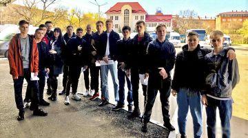 Студенческий строительный отряд отправился на практику в Ростовскую область