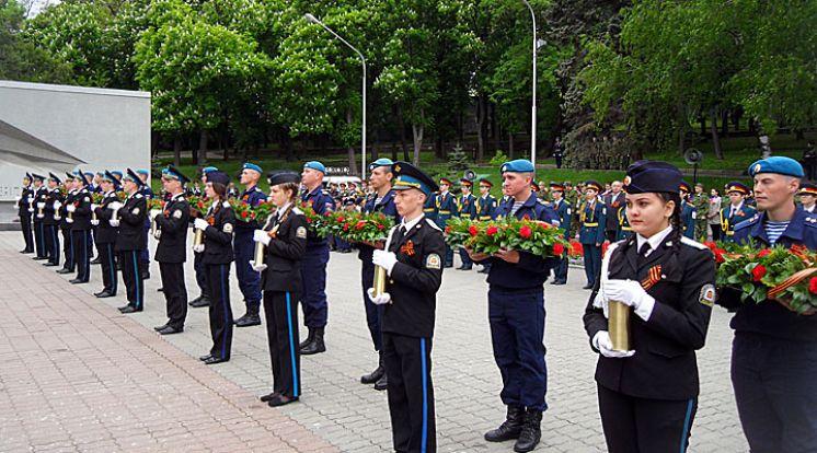 В Ставрополе открыли Аллею Славы