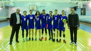 Второй этап круга волейбольной лиги