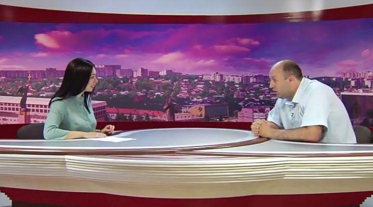 Выступление директора техникума на телевидении