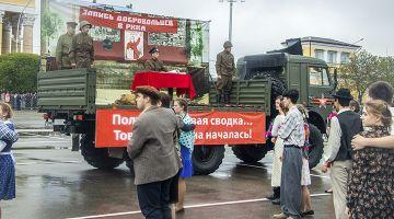 Ставрополь встретил 76-ю годовщину Победы  в Великой Отечественной войне