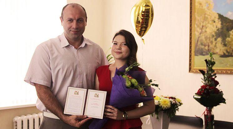 Стипендия администрации г. Ставрополя