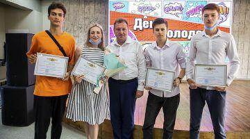 Награждение молодежи города Ставрополя