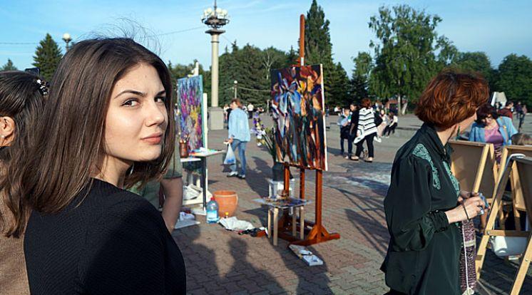 Открытый фестиваль живописи