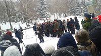 Митинг, посвящённый 71-й годовщине освобождения города Ставрополя