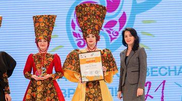 Студенты ССТ обладатели ГРАН-ПРИ фестиваля-конкурса «Студенческая весна Ставрополья - 2021»