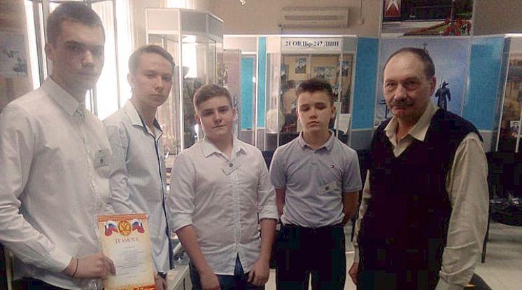 """Победа в конкурсе """"Ворошиловский стрелок"""""""