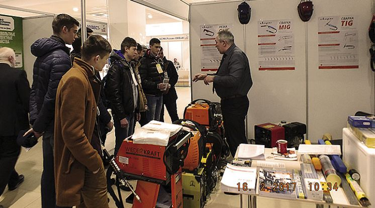 Выставка строительных и отделочных материалов