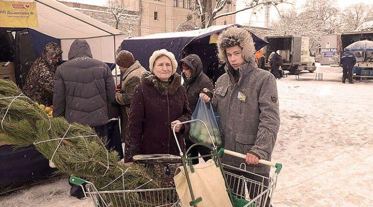 Новогодний базар