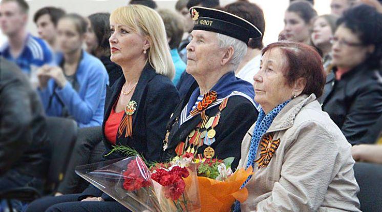 Концерт посвященный 71-й годовщине Великой Победы