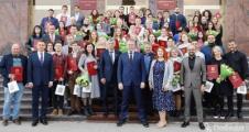 Торжественная церемония награждения  волонтеров Ставропольского края