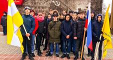 Митинг, посвященный 77-ой годовщине освобождения Ставрополя