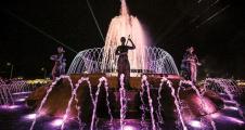 Открытие светомузыкального фонтана