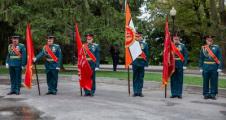 Памятная акция, посвященная 76-й годовщине со дня окончания Второй мировой войны