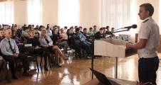 Встреча студентов ТЭО с сотрудниками правоохранительных органов