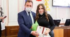 В Ставрополе чествовали именных стипендиатов главы города
